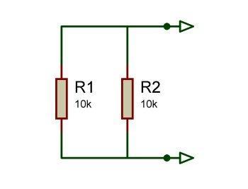 2 resistors in parallel