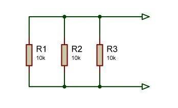 3 resistors in parallel