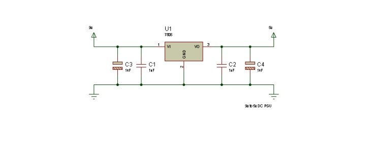 9v to 5v DC PSU
