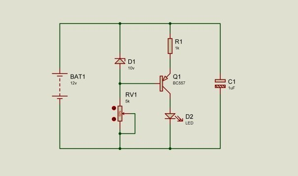 Battery Low Voltage Indicator