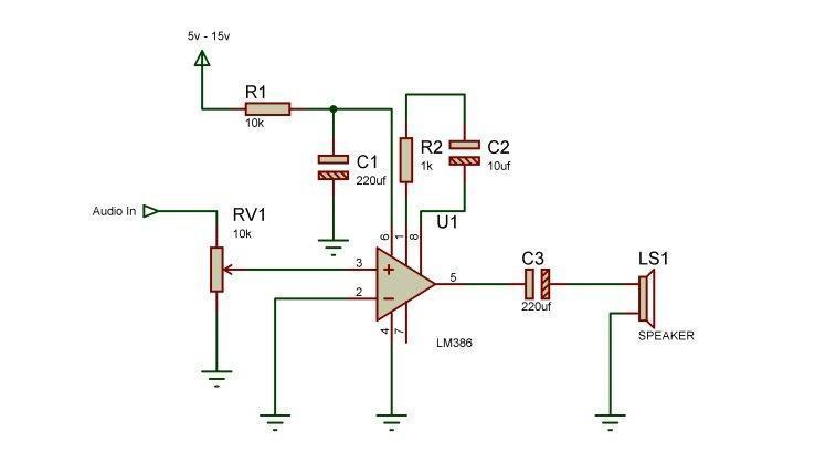 LM386 Audio amplifier Get electronics