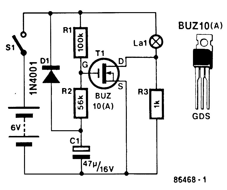 buz10 circuit example