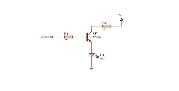 transistor logic probe