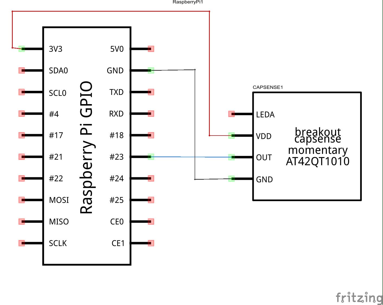 pi and cap sensor