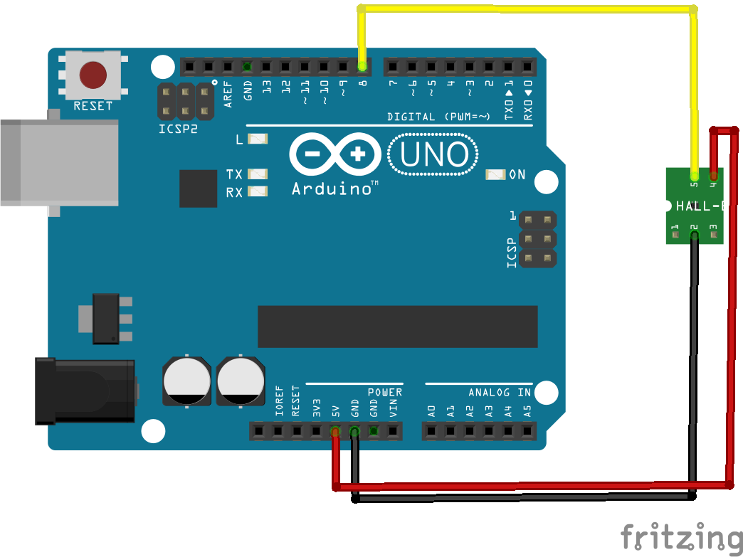 arduino and halleffect_bb