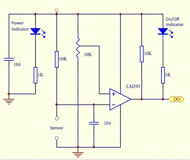 reed switch module schematic