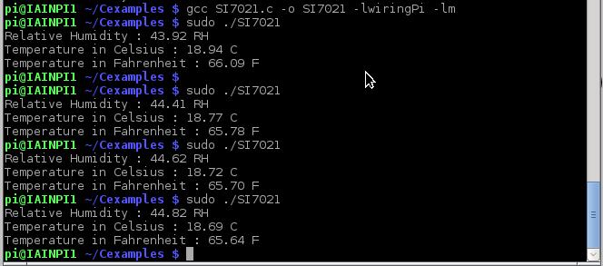 si7021 output