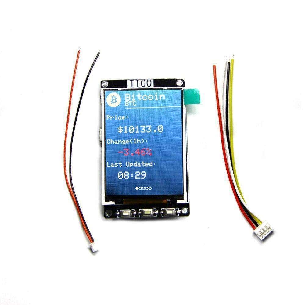 A look at an ESP32 based bitcoin module - Get electronics