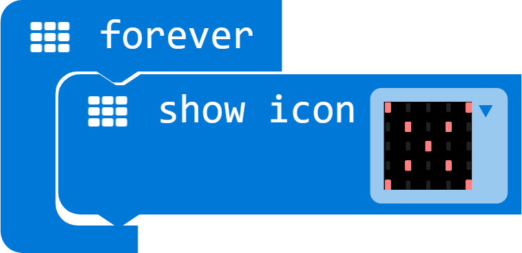 icon on micro:bit