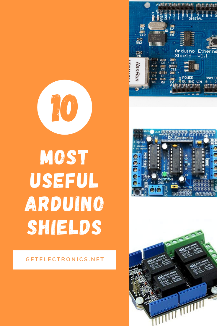 10 of the most useful arduino shields