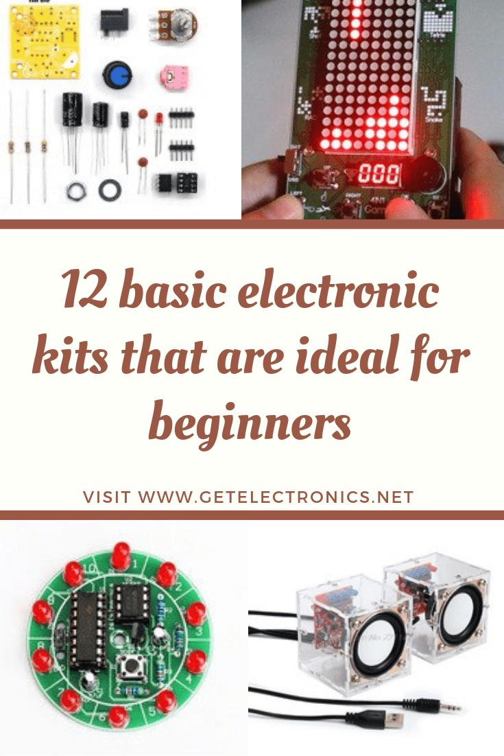 12 basic electronic kits
